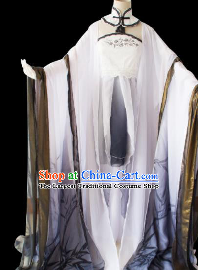 Traditional Chinese Song Dynasty Princess Costumes Ancient Cosplay Imperial Concubine Hanfu Dress for Women