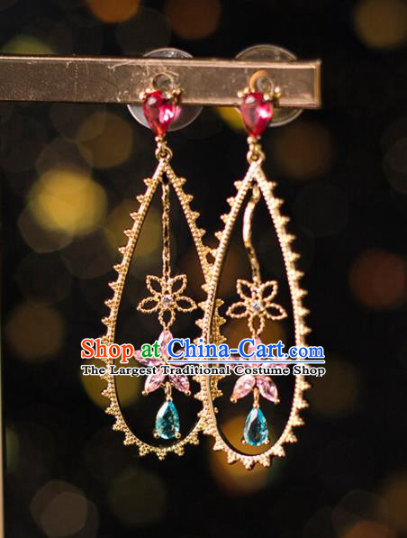 Handmade Wedding Ear Accessories Top Grade Bride Hanfu Earrings for Women