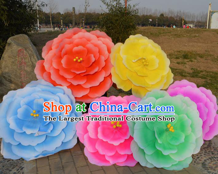 Chinese Traditional Folk Dance Prop Classical Dance Peony Umbrellas for Women