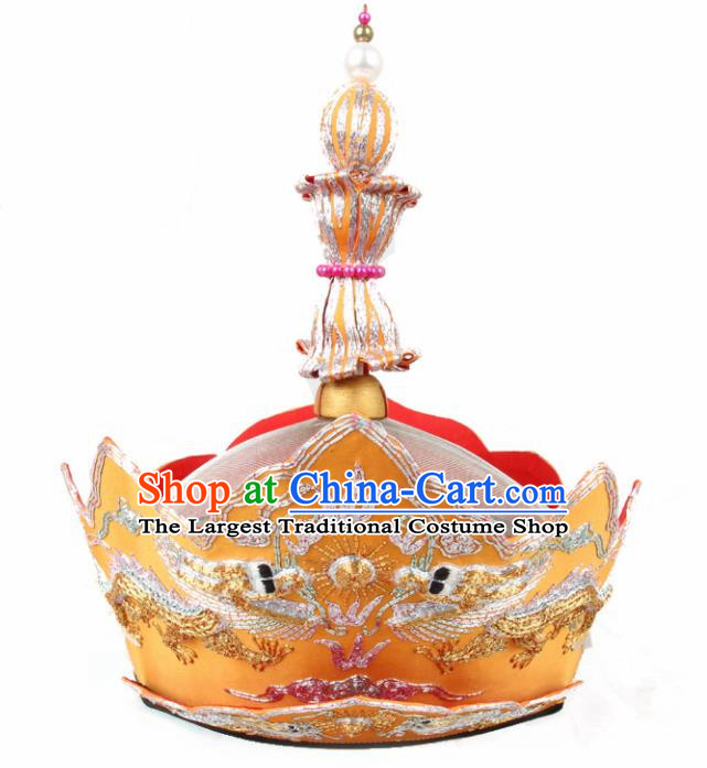Chinese Traditional Buddhist Hats Buddhism Hair Accessories Master Hat