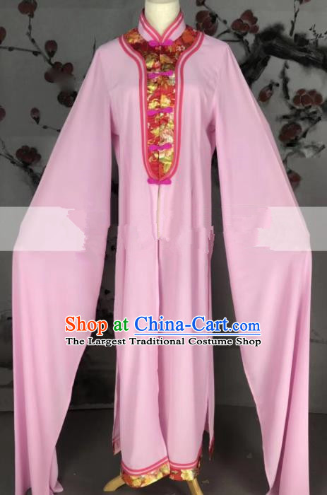 Professional Chinese Traditional Beijing Opera Pink Dress Ancient Country Lady Costume for Women