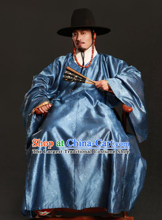 Asian Chinese Ming Dynasty Emperor Ceremonial Robe Traditional Ancient Royal Highness Costumes for Men