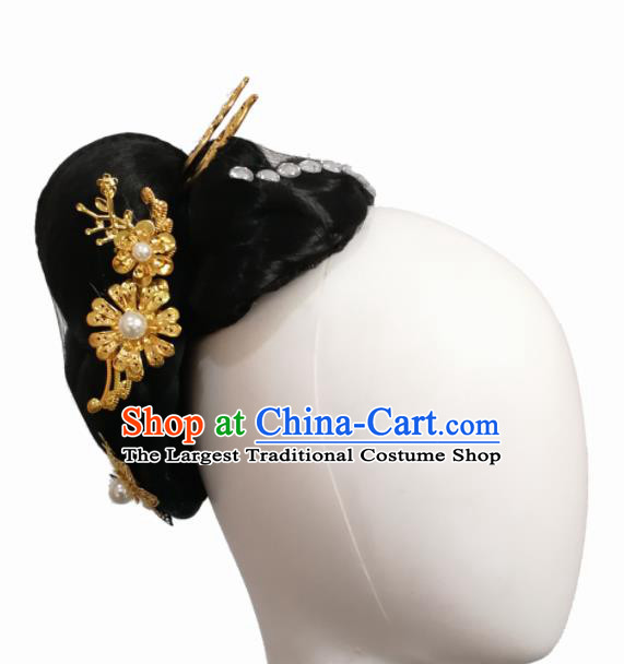 Chinese Traditional Ethnic Dance Hair Accessories Korean Nationality Dance Headwear for Women