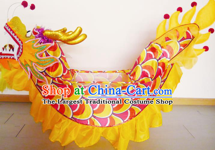 Chinese New Year Folk Dance Dragon Boat Traditional Dance Prop for Kids