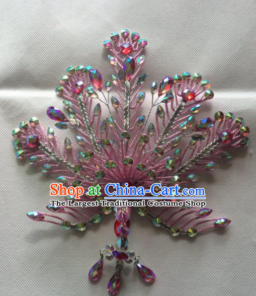 Chinese Beijing Opera Queen Phoenix Hair Crown Hairpins Traditional Peking Opera Diva Hair Accessories for Women