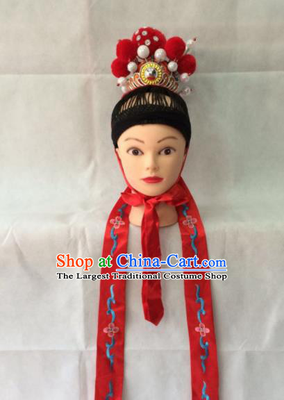 Chinese Beijing Opera Niche Hair Crown Traditional Peking Opera Prince Headwear for Men