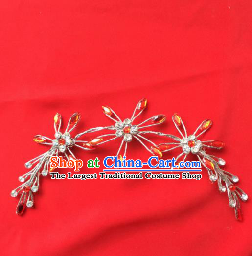 Chinese Beijing Opera Actress Hair Stick Hairpins Traditional Peking Opera Princess Hair Accessories for Women