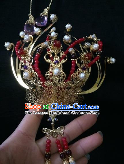 Chinese Traditional Ancient Princess Hairpins Court Hair Accessories for Women