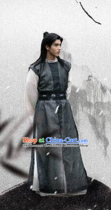 Ever Night Ancient Chinese Drama Nobility Childe Traditional Tang Dynasty General Ning Que Costumes for Men
