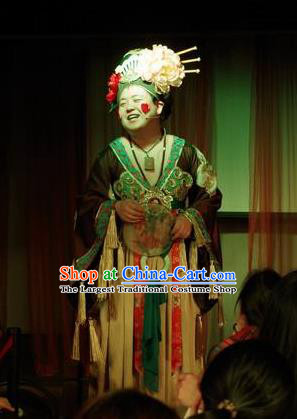 Chinese The Romantic Show of Songcheng Palace Feast Dance Dress Stage Performance Costume for Women