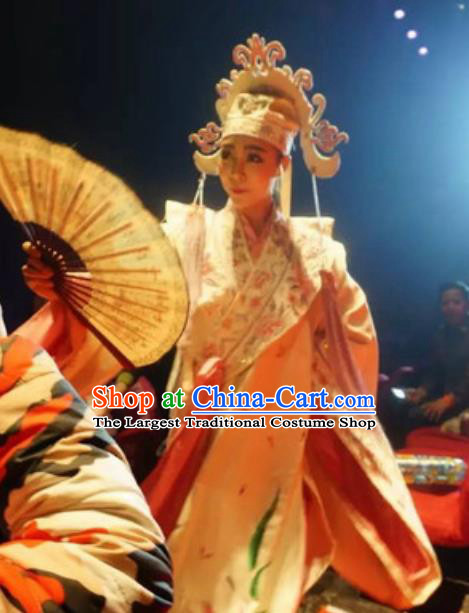 Chinese The Romantic Show of Songcheng Scholar Liang Shanbo Stage Performance Dance Costume for Men
