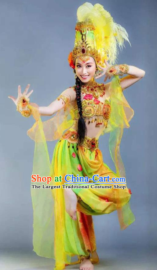 Chinese Back to the Silk Road Kazak Nationality Folk Dance Dress Stage Performance Ethnic Costume for Women