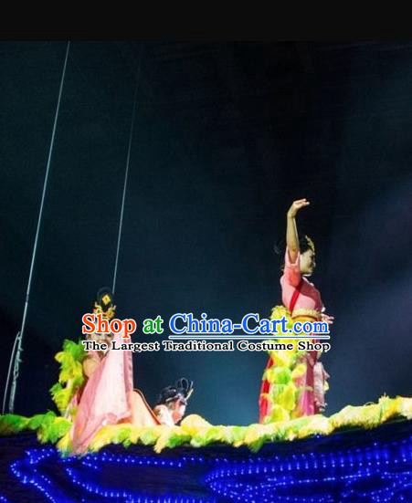 Chinese The Romantic Show of Tanhe Classical Dance Dress Stage Performance Costume for Women