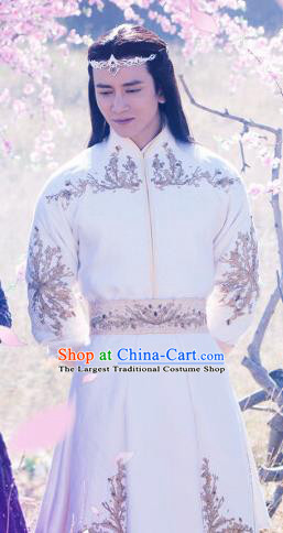 Ancient Chinese Drama Swordsman Chong Ming Hanfu Clothing Ever Night Traditional Tang Dynasty Prince Costumes for Men