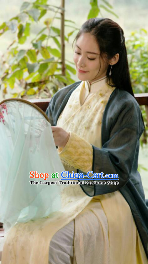 Ancient Chinese Drama Ever Night Female Swordsman Dress Traditional Tang Dynasty Taoist Nun Costumes for Women