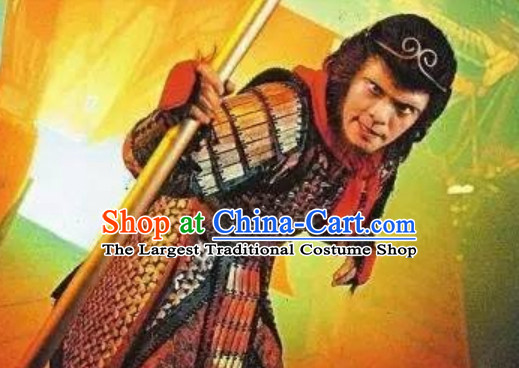 Journey to the West Stephan Chow Version Monkey King Costume Armor Complete Set