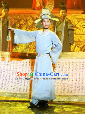 Chinese Magic Ganpo Peking Opera Niche Stage Performance Dance Costume for Men