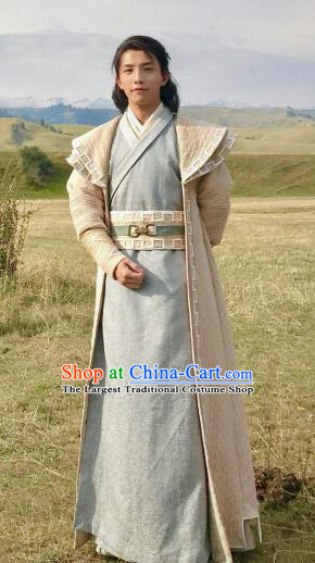 Drama Ever Night Ancient Chinese Prince Hanfu Clothing Traditional Tang Dynasty Swordsman Costumes for Men