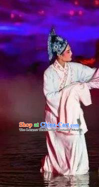 Chinese The Dream Of The Peony Pavilion Opera Niche Liu Mengmei Clothing Stage Performance Dance Costume for Men