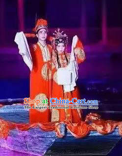Chinese The Dream Of The Peony Pavilion Wedding Stage Performance Dance Costumes for Women for Men