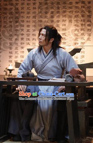 Ever Night Chinese Drama Ancient Swordsman Zhao Xiaoshu Costumes for Men