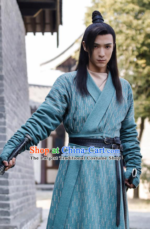 Ever Night Chinese Drama Ancient Tang Dynasty Swordsman Prince Li Hunyuan Costumes for Men