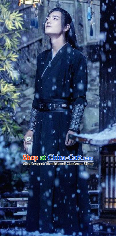 Drama The Untamed Chinese Ancient Swordsman Patriarch Wei Wuxian Xiao Zhan Costumes for Men