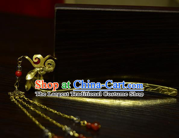 Chinese Ancient Court Queen Phoenix Hairpins Traditional Classical Hanfu Hair Accessories for Women