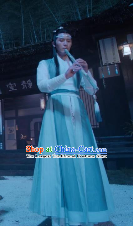 Drama The Untamed Ancient Chinese Nobility Childe Lan Xichen Swordsman Costumes for Men