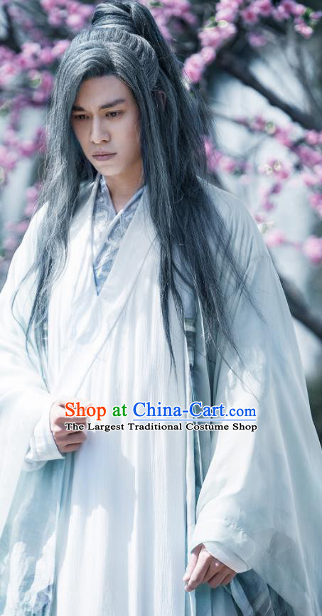 Fights Break Sphere Ancient Chinese Swordsman Cabinet Master Yao Chen Hanfu Costumes for Men