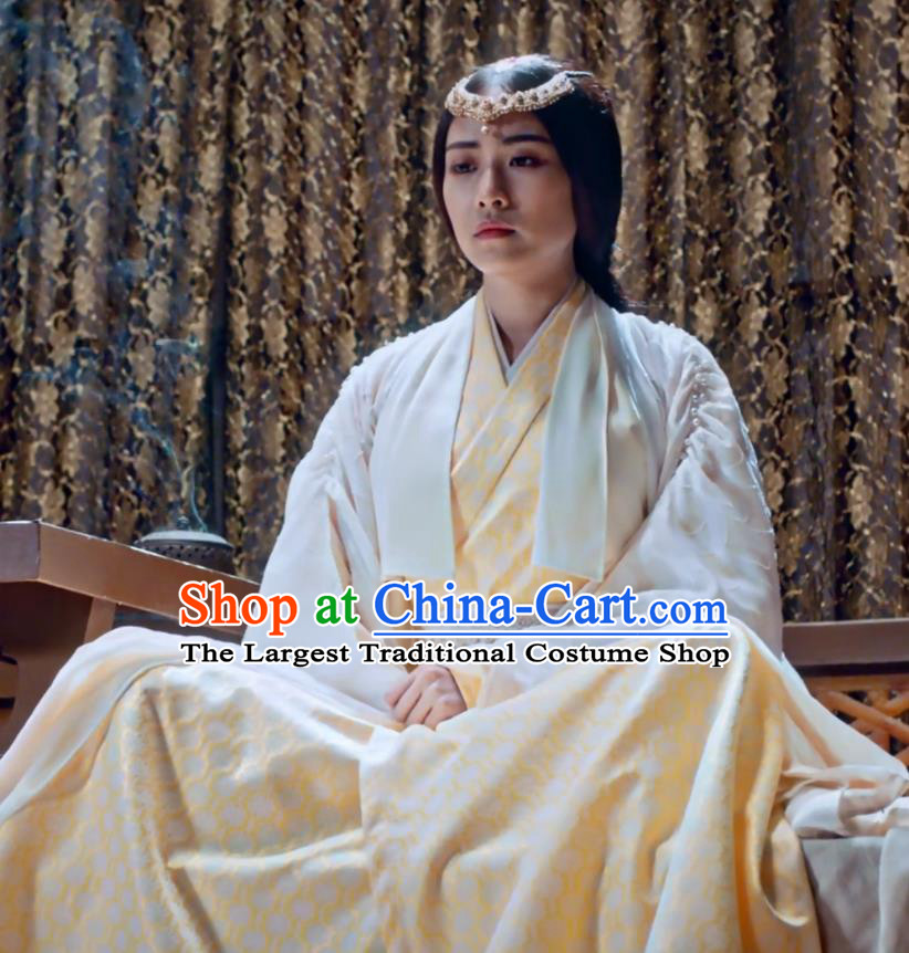 Ancient Chinese Nobility Lady Female Swordsman Drama Fights Break Sphere Nalan Yanran Costumes for Women