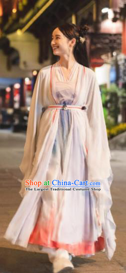 Ancient Chinese Nobility Lady Hanfu Dress Drama Female Swordsman Costumes for Women