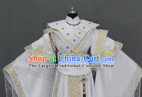 Chinese Traditional Cosplay Taoist King Costumes Ancient Swordsman Clothing for Men