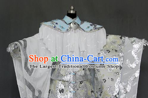 Customize Chinese Traditional Cosplay Monarch Costumes Ancient Swordsman King Clothing for Men