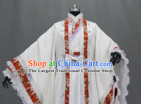 Customize Chinese Traditional Cosplay Nobility Childe Costumes Ancient Swordsman Clothing for Men