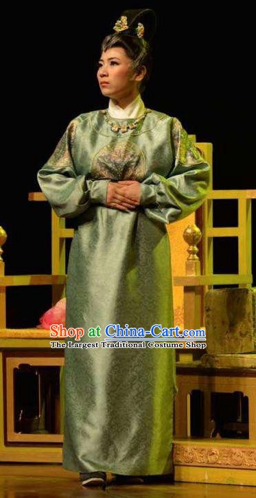 The Empress of China Ancient Tang Dynasty Court Maid Dress Stage Performance Dance Costume and Headpiece for Women