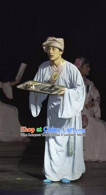 Chinese Impression of Suzhou Ancient Scholar Clothing Stage Performance Dance Costume for Men