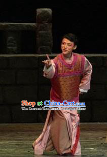 Chinese Moon Shines On Sugarbush Ferry Male Clothing Stage Performance Dance Costume for Men