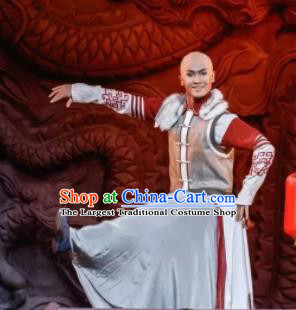 Nostalgia Is A Disease Chinese Ancient Qing Dynasty Prince Clothing Stage Performance Dance Costume for Men