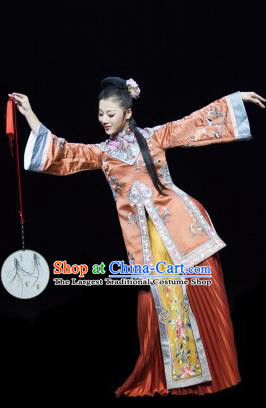 The Greatest Spirit Chinese Peking Opera Dress Stage Performance Dance Costume and Headpiece for Women