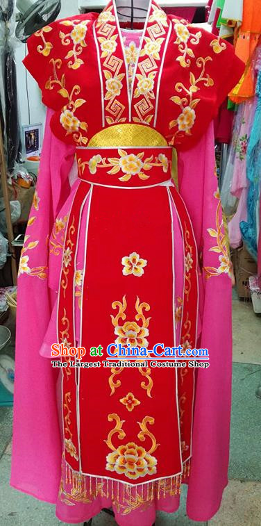 Chinese Traditional Beijing Opera Nobility Lady Dress Peking Opera Actress Costume for Adults