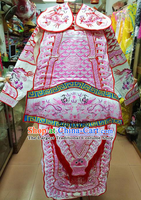 Chinese Traditional Beijing Opera General Costume Peking Opera Military Officer Robe for Adults