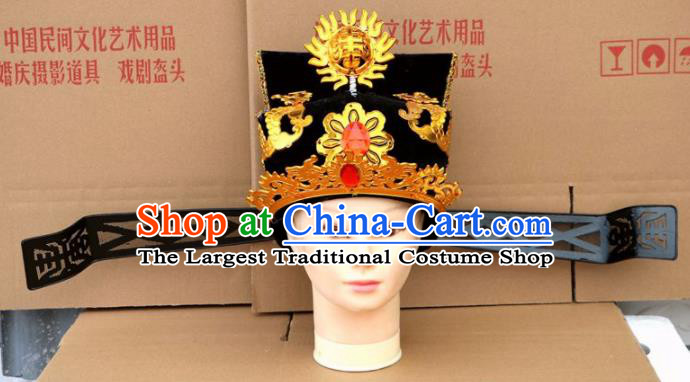 Chinese Traditional Beijing Opera Niche Hat Peking Opera Scholar Black Hat