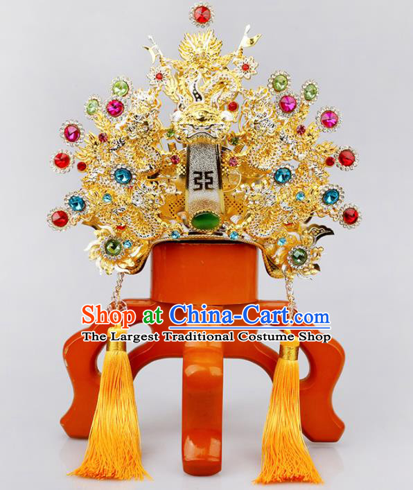Chinese Traditional Religious Hair Accessories Taoism Feng Shui Immortal Prince Hat