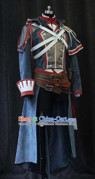 Top Grade Cosplay Assassin Costume Halloween Swordsman Clothing for Men