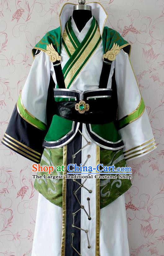 Chinese Ancient Cosplay Swordsman Costume Traditional Prince Clothing for Men