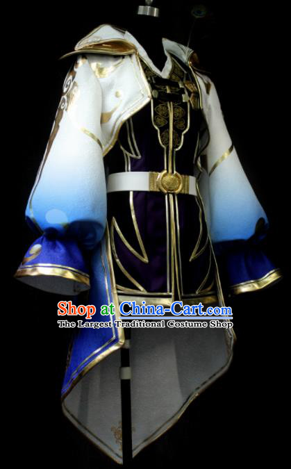 Chinese Ancient Cosplay Costume Traditional Swordsman Clothing for Men