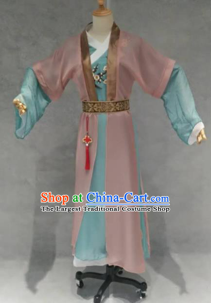 Traditional Chinese Classical Dance Costume China Ancient Dance Dress for Women