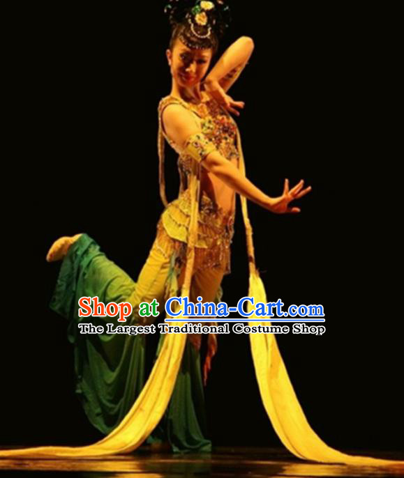 Traditional Chinese Classical Dance Costume China Ancient Flying Apsaras Dance Dress for Women