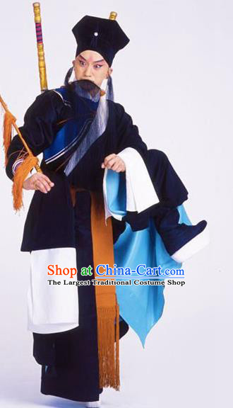 Chinese Traditional Beijing Opera Costume Peking Opera Takefu Black Clothing